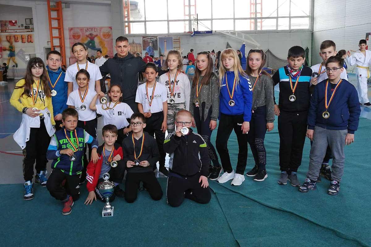 20 de medalii pentru judoka CSM Baia Mare la Memorialul Lucian Preda