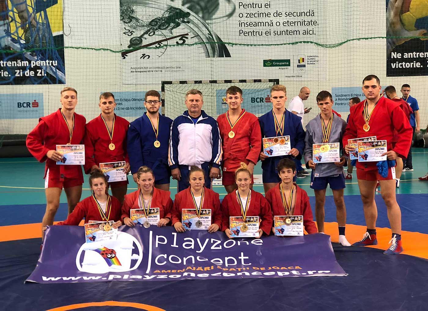 24 de medalii pentru sportivii CSM Baia Mare la Campionatele Naționale de Sambo