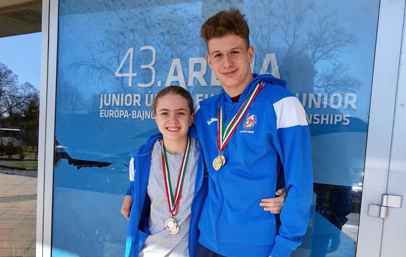 Rezultate bune pentru înotătorii noștri la o competiție internațională în Ungaria