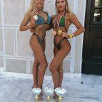 Gianina Suciu și Amalia Mali, medaliate la Campionatul Balcanic